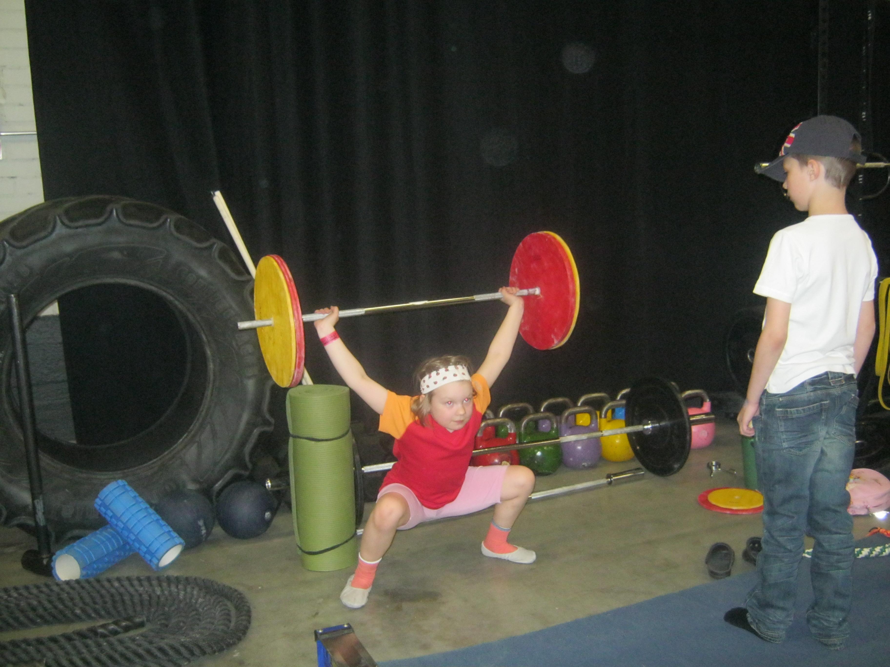 Gymnastics WOD ja Endurance WOD 27.4.2014