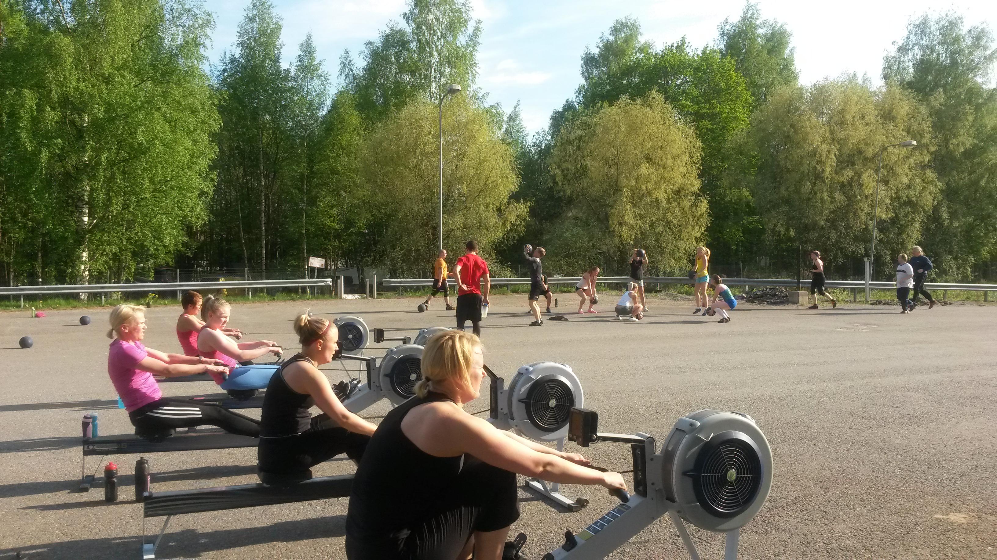 Gymnastics WOD ja Endurance WOD