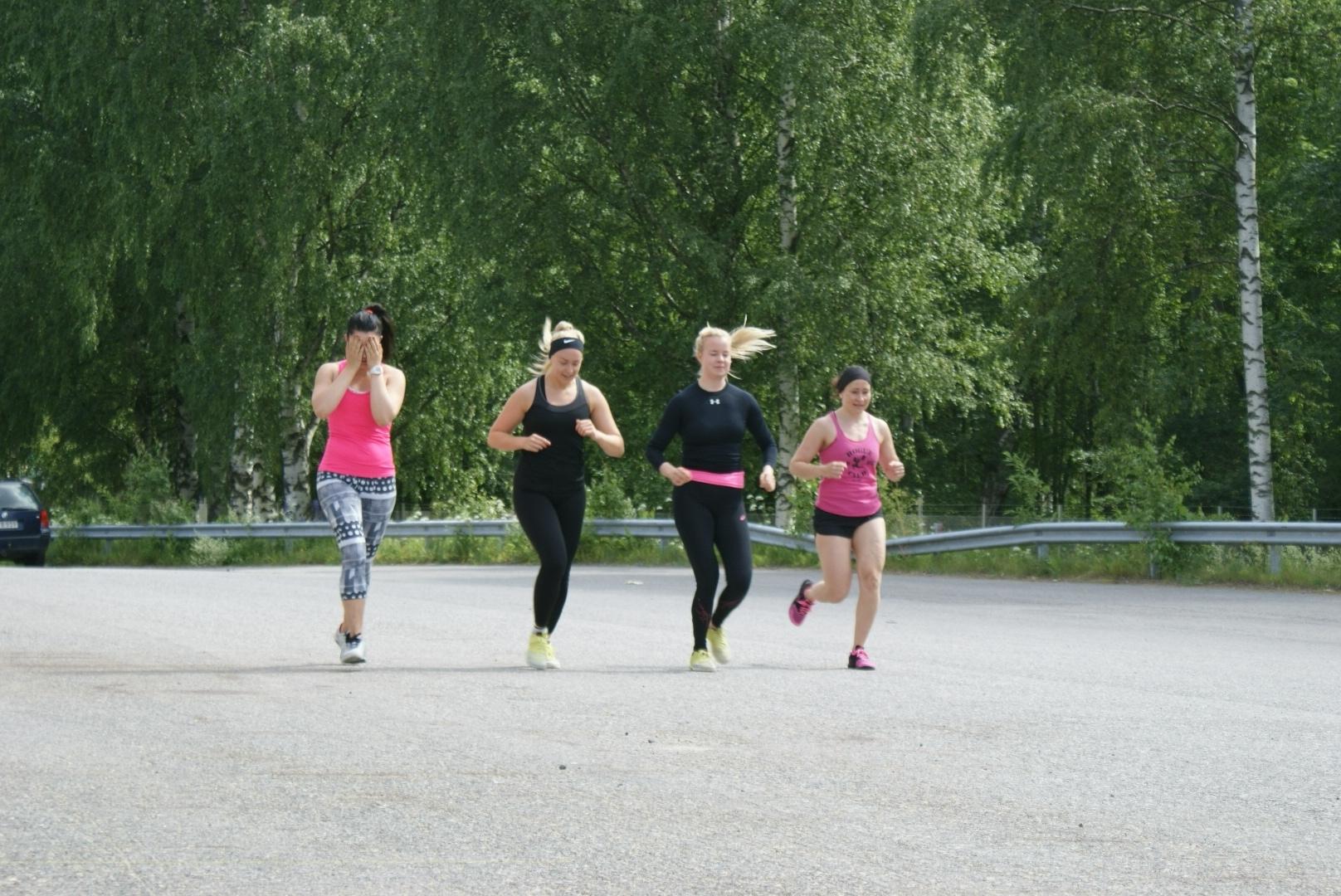 Endurance & weightlifting torstai 27.8.2015